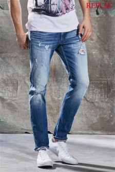 Replay® Anbass Slim Fit Jean