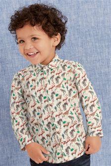 Chemise à manches longues (3 mois - 6 ans)