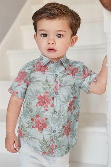 Floral Shirt (3mths-6yrs)