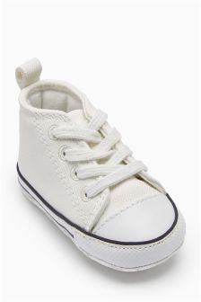 Pram Lace-Up Boots (Younger Boys)