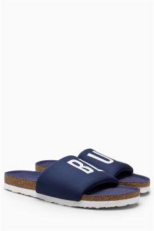 Jersey Slider Slippers