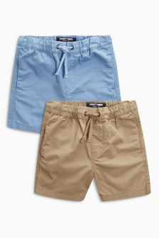 Pull On Shorts Two Pack (3mths-6yrs)