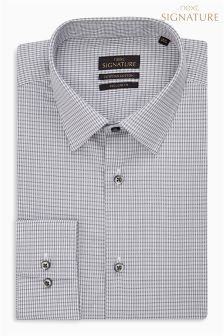 Check Signature Egyptian Cotton Regular Fit Shirt