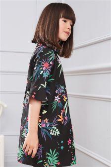 Printed Crepe Dress (3-16yrs)