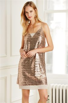 Sequin Cami Dress