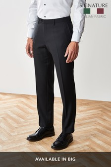 Костюм из итальянской шерсти из именной коллекции: брюки приталенного кроя