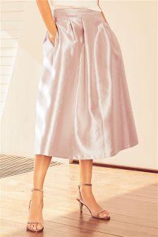 Metallic Full Skirt