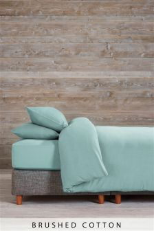 Brushed Cotton Bed Set