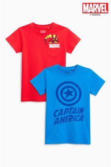 Zestaw dwóch koszulek Marvel® (3-16 lat)