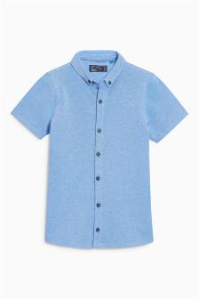 Pique Short Sleeve Shirt (3-16yrs)