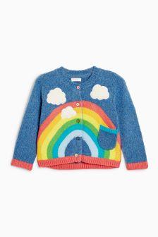 Rainbow Cardigan (3mths-6yrs)