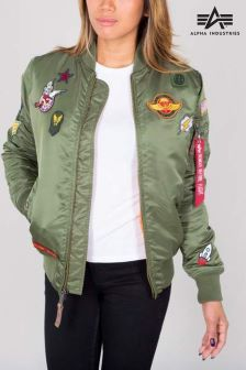 Alpha Industries Sage MA1 VF Patch Womens Coat