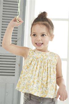 Lemon Print Dress (3mths-6yrs)