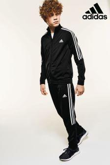 adidas Black Tiro Tracksuit