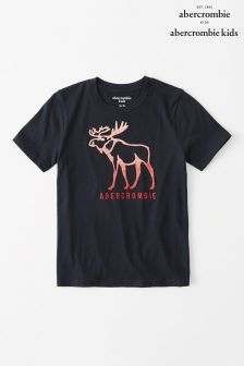 Abercrombie & Fitch Moose Logo T-Shirt