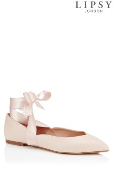 Lipsy Tie Up Ballerina Shoes