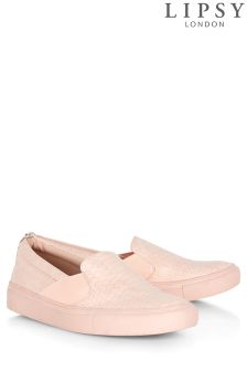 Lipsy Faux Reptile Trainers