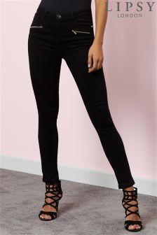 Lipsy Super Stretch Zip Skinny Jeans