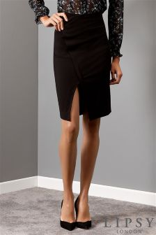 Lipsy D Ring Wrap Pencil Skirt