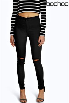 Boohoo High Waisted Skinny Jeans