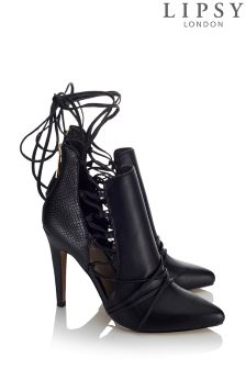 Lipsy Side Ghillie Shoe Boots