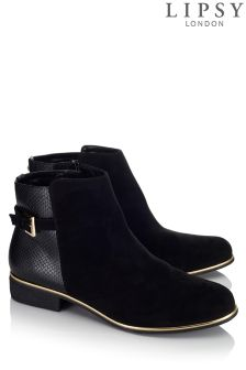 Lipsy Buckle Detail Ankle Boots