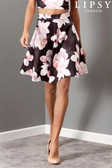 Lipsy Floral Co-Ord Prom Skirt