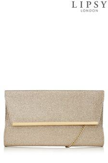 Lipsy Lurex Clutch Bag