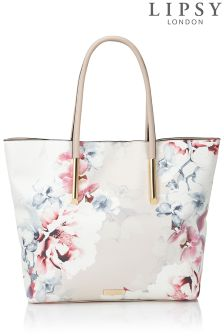 Lipsy Floral Shopper Bag