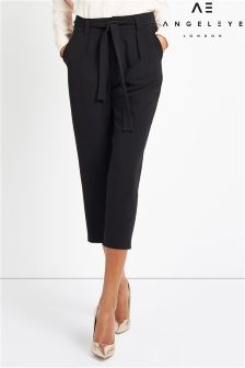 Angeleye Cropped Cigarette Trousers