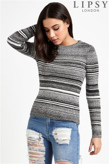 Lipsy Stripe Crew Neck Jumper