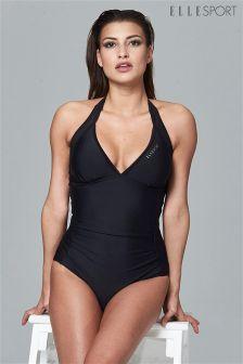 Elle Sport Mesh Detail Tummy Control Swimsuit
