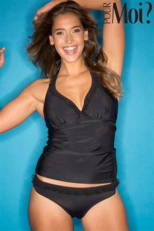 Pour Moi Mesh It Up Underwired Tankini
