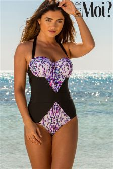Pour Moi Mykonos Padded Underwired Swimsuit