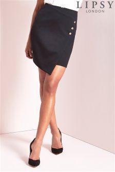 Lipsy Button Skirt