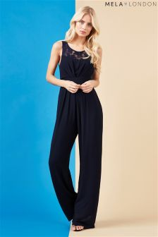 Mela London Sweetheart Neckline Jumpsuit