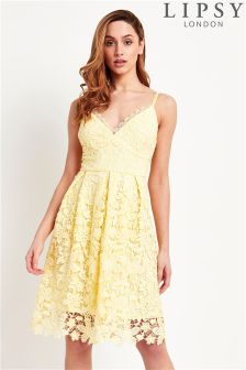 Lipsy Lace Cami Prom Dress