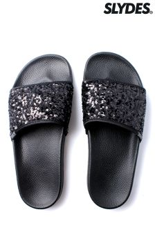 Slydes Sequin Pool Slides