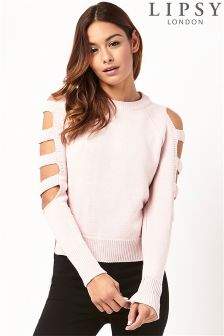 Lipsy Slash Sleeve Jumper