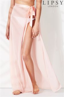 Lipsy Side Tie Kaftan Skirt