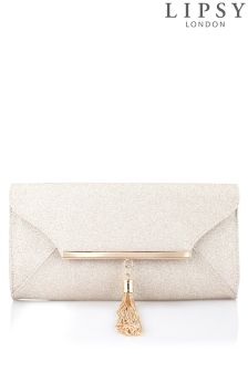 Lipsy Tassel Clutch Bag