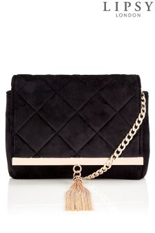 Lipsy Velvet Cross Body Bag