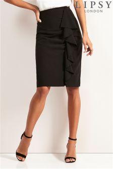 Lipsy Ruffle Front Skirt