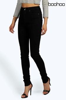 Boohoo High Waisted Classic Stretch Skinny Jeans