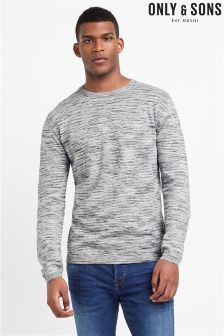 Only & Sons Melange Fine Knit Sweater