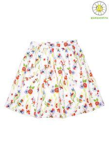 Margherita Kids Printed Skater Skirt