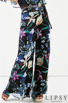 Lipsy Floral Print Co-ord Trouser