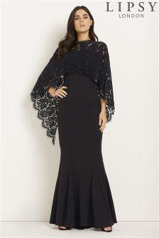 Lipsy Cape Maxi Dress