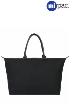 Mi-Pac Black Canvas Weekender Bag