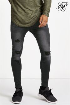Siksilk Skinny Low Rise Denim Jeans